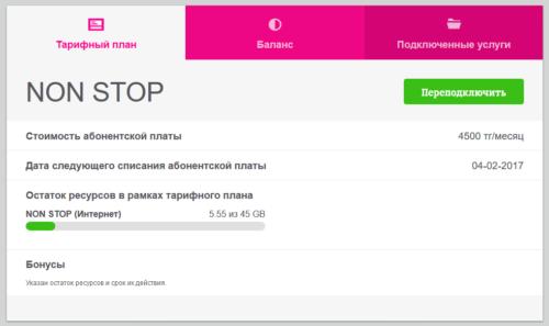 поправленный altel новый дизайн личного кабинета