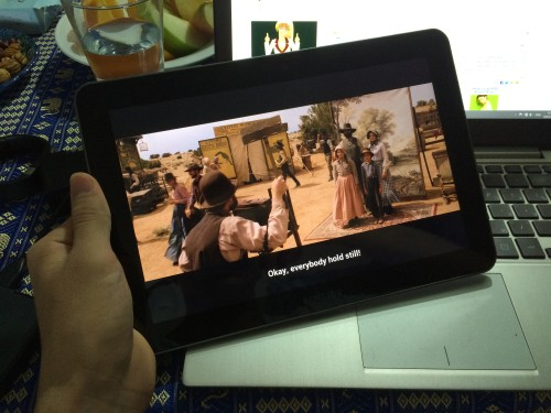 galaxy tab 10.1 wi-fi movie