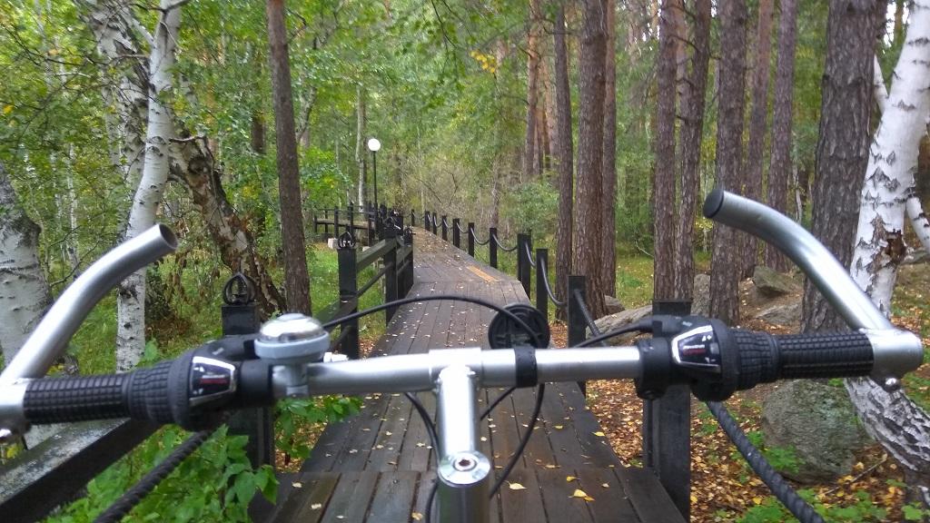 велодорожка в Боровом
