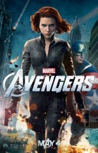 Наташа Черная вдова и Капитан Америка (Мстители)