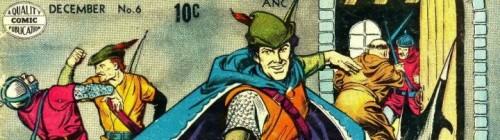 robin hood comics