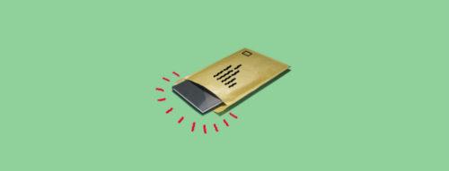 украден телефон с почты
