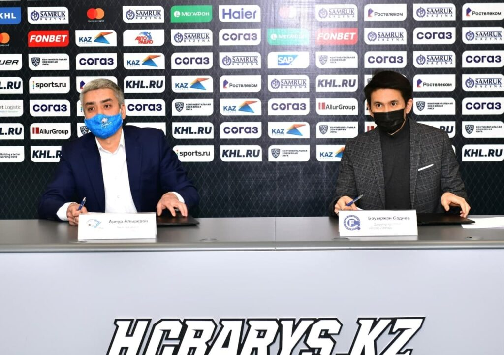 Садиев Бауыржан и Арнур Альшеров