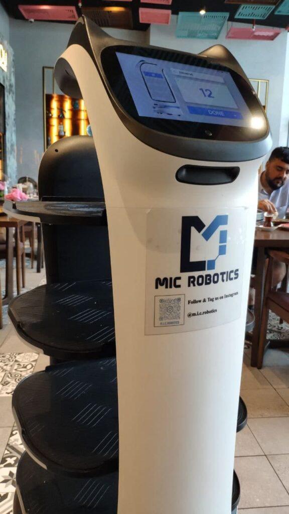 mic robots робот официант