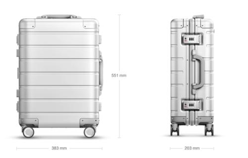 размеры чемодана xiaomi